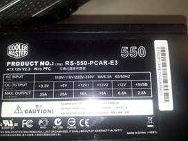 Fuente Cooler Master Rs-550-pcar-e3 550watt