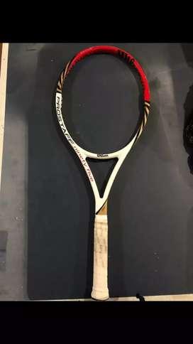 Raquetas profesionales de tenis