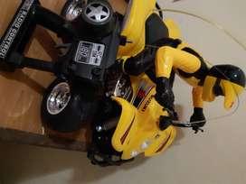 Vendo cuatriciclo Suzuki control remoto