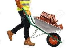 Se requiere ayudante de construcción