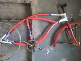Bicicleta playera raleight retroglide