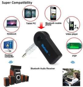 Receptor Bluetooth Audio Con Microfono Aux 3.5m Manos Libres