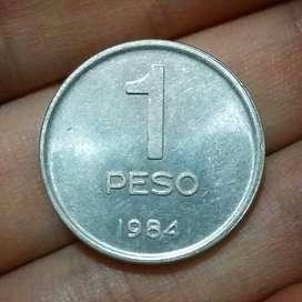Argentina 1 Peso 1984