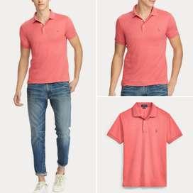 Polo Cuello Camiseta Ralph Lauren Talla S, Slim Fit Para Hombre