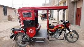 Vendo una motataxi wanxin 9 meses de uso 4200 de kilometraje