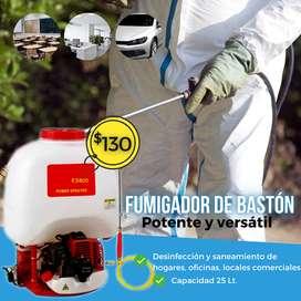 Maquina de desinfección - Fumigador de bastón