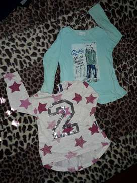 Camisetas Mimo y Advance