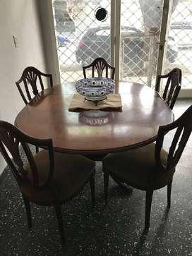 Mesa extensible estilo ingles