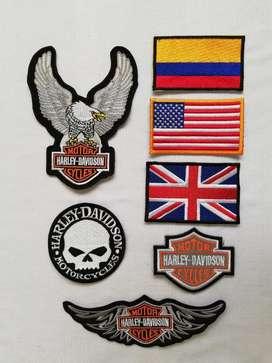 Parches para Motorizados - Harley Davidson