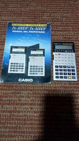 Calculadora científica Casio vintage