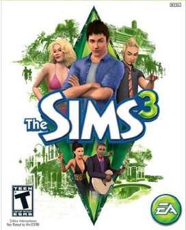 Juego The Sims 3 con todo - PC
