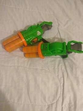 Pistolas Nerf, municiones redondas