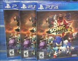Sonic Forces Ps4 Nuevo Y Sellado Stock