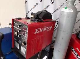 Soldadora Elektro 290 con Cilindro de Co2