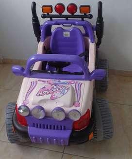 Carro - Vehículo Jeep Adventure con Control Remoto