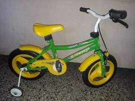 Bicicleta Rodado 12 Nueva