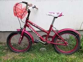 Bicicleta Halley niñas rodado 16