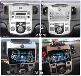 Radio Tipo Original Android Kia Cerato Forte-Manual