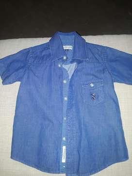 Camisa Polo Poco Uso Talla 3