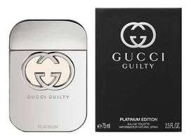Perfume Gucci Guilty Platinum Edition 75ml Mujer Eros
