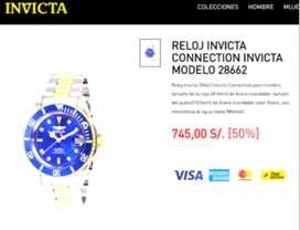 Remato relojes de lujo Invicta Pro Diver Automáticos