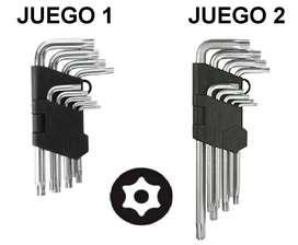 Juego de llaves torx de seguridad – CANTIDAD 9 llaves