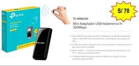 ADAPTADOR WIFI USB TL-WN823N