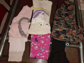 Conjuntos calza + remera