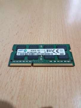 Memoria RAM 4GB Samsung original Notebook