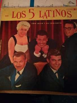 Disco de Los 5 Latinos