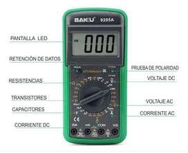 Multimetro Digital Baku 9205a