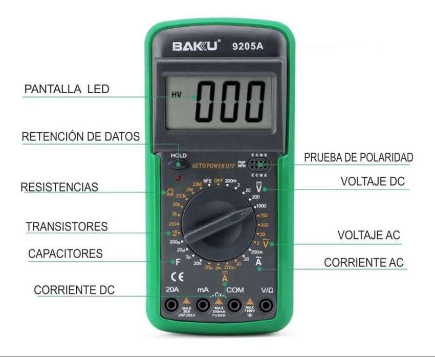 Multimetro Digital Baku 9205a 0