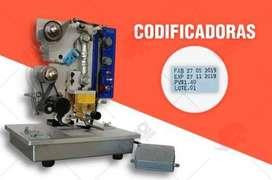 Entrega Inmediata Codificadoras Fechadoras Quito Guayaquil y Cuenca