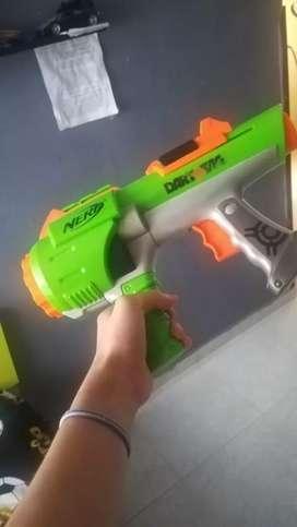 pistola de juguete nerf