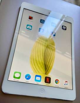 iPad Mini Blanco Plata Intacta Como Nueva