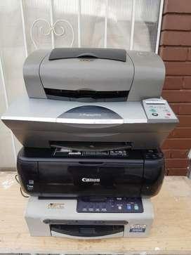 Lote de Impresoras Todas Encienden,
