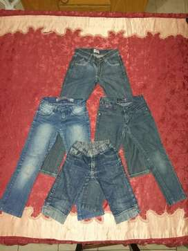 Lote Jeans Nena Talle 6