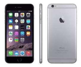 Iphone 6 usado  color plomo foto referencial