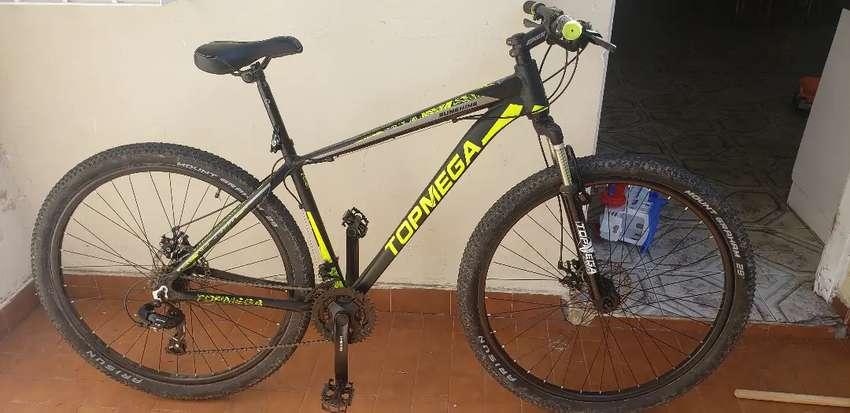 Vendo bicicleta topmega sunshine rodado 29 0