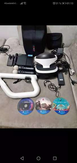 Gafas de realidad virtual ps4