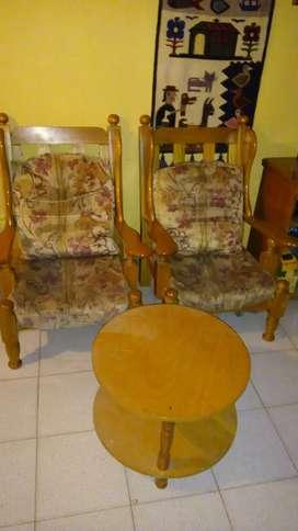 Vendo sillones de Roble Macizo Francés