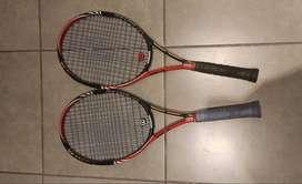 Vendo dos raquetas Wilson Blx Six One e
