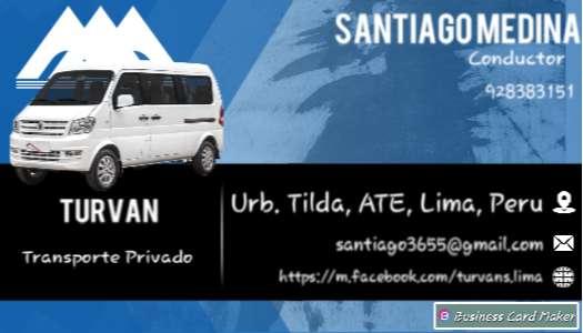Movilidad Privada / Transporte de Personal / Taxi vans. 0