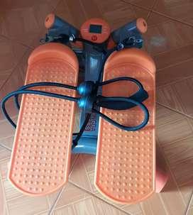 Máquina de paso para ejercicio con bandas