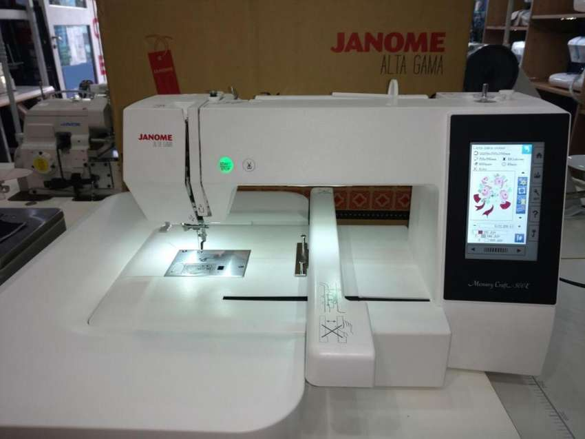 Bordadora Janome Mc 500 E 0