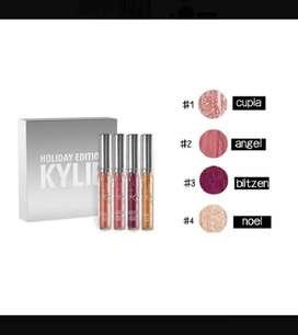 Set X4 Labiales Kylie Mate Edición Holid
