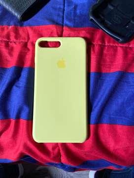 Forro amarillo de iphone 7