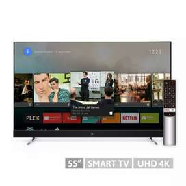 Tv Led 55' 4k Android Tcl Nuevo