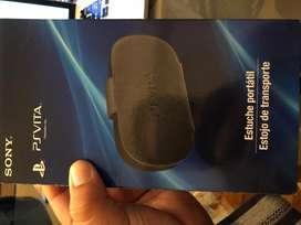 Ps Vita Estuche Cuero Original Sony Pchz0c1