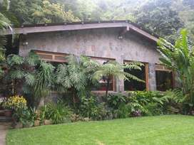 Beautiful San Lucas Toliman Estate with Gardens, Pool and Artist Studio, Lakeside Location